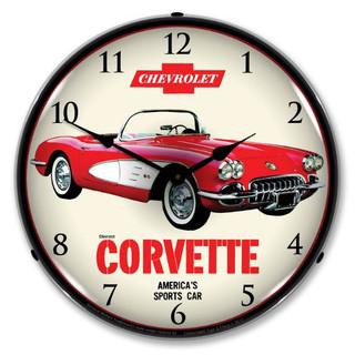 1959 Corvette Clock