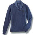 Ladies Chevy Trucks Blue Pullover Jacket