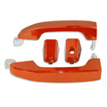 Silverado/Sierra Daytona Sunrise Orange Door Handles front