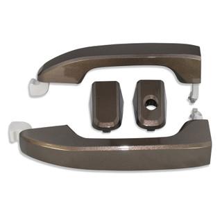 Silverado/Sierra Pepper Dust Door Handles front