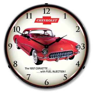 1957 Corvette Fuel Injection Clock