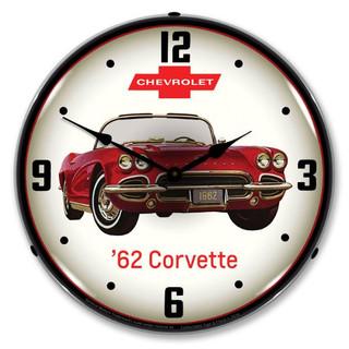 1962 Corvette Clock
