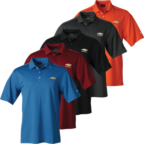 Chevrolet Bowtie Nike Dri-Fit Polo Shirt  a9bc4df53