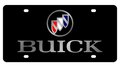 Buick Black Acrylic License Plate