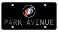 Buick Park Avenue Black Acrylic Plate