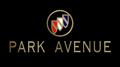 Buick Park Avenue Black Acrylic Plate - Gold Letters