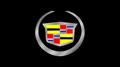 Cadillac Crest Black Acrylic Plate