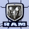 Small Dodge Ram Neon Sign