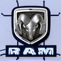 Small Dodge Ram Neon Sign
