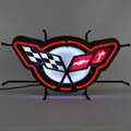 C5 Corvette Emblem Neon Sign