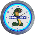 Ford Shelby Cobra Neon Clock