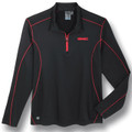 GMC Black and Red Base Layer Pullover Jacket