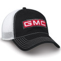 GMC Black and White Mesh Hat (unstructured)