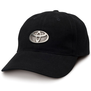 Toyota Badge Black Classic Cotton Hat