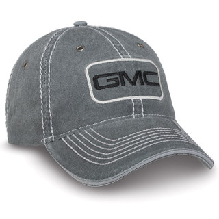 GMC Enzyme Washed Gray Hat