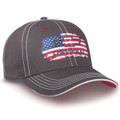 Chevrolet American Flag Salute Gray Hat