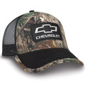 Chevrolet Realtree Hardwoods Camo Black Mesh Hat