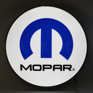 Mopar M Backlit Sign