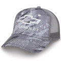 Chevrolet Realtree Fishing Gray Camo Mesh Hat