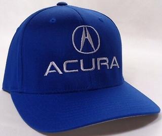 Acura Blue Brushed Cotton Flex Hat