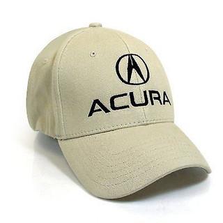 Acura Khaki Brushed Cotton Flex Hat