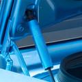Dodge Challenger Billet Trunk Shock Covers (on car)