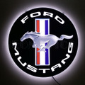 Ford Mustang Tri-Bar Slim LED Sign (lit)