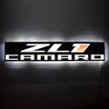 Chevrolet Camaro ZL1 Slim LED Sign (lit)