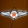 Texaco Wings Slim LED Sign (lit)