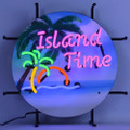 Small Island Time Neon Sign