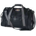 Chevrolet Deluxe Black Travel Duffle Bag