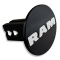Dodge Ram Billet Color Match Hitch Plug Cover (Ram Lettering shown)