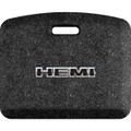 Hemi Black Letters/Chrome Outline Mosaic Black 22x18 Mat