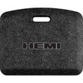 Hemi Black Letters Outlined Mosaic Black 22x18 Mat