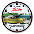 1955 Metropolitan LED Backlit Clock