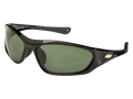 Black TCG Chevy Gold Bowtie Sunglasses - Gray/Green Tint