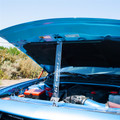 Dodge Laser Engraved Logo Acrylic Hood Prop