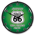 Historic Route 66 The Mother Road LED Backlit Clock