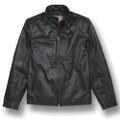 C8 Corvette Next Gen Black Embossed Leather Jacket