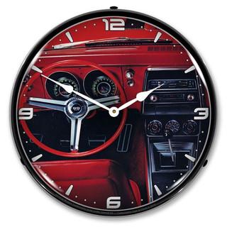 1967 Camaro Dash LED Backlit Clock