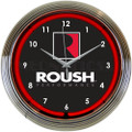 Roush Performance Neon Clock
