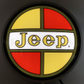 Jeep Retro Backlit Sign