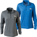 Women's Chevrolet Bowtie Performance Qtr Zip Jacket