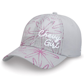 Chevy Girl Gray and Pink Hat
