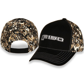 Ford F150 Digital Camo and Black Hat
