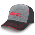 GMC Black, Gray, Red Flex Sandwich Brim Hat - L/XL