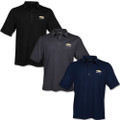 Chevrolet Gold Bowtie Snap Up Stretch Polo Shirt