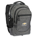 Chevrolet Bowtie On The Go Gray Backpack