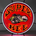 Dodge Super Bee Neon Sign with Backing