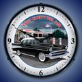 1957 Chevy Esso Gas Clock